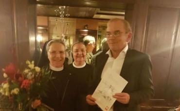 Priznanje Caritasa s. Patriciji Mijačević
