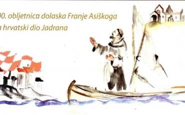 Program proslave 800. obljetnice dolaska Sv. Franje na hrvatsko tlo