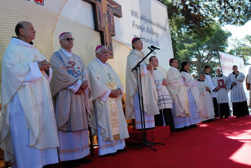 Homilija mons. Marina Barišića prigodom 800. obljetnice slavlja dolaska sv. Franje