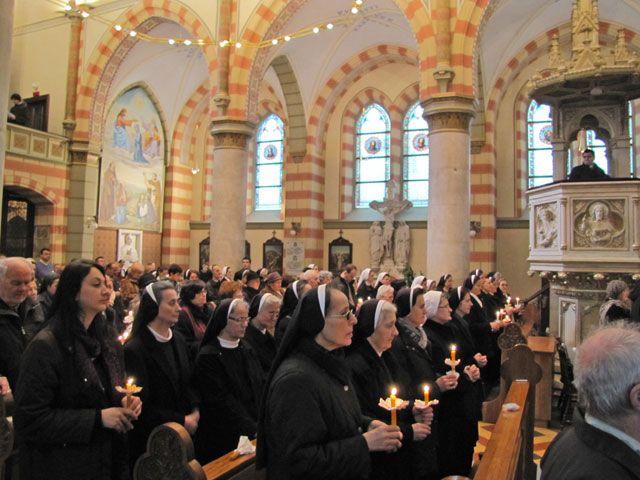 Sarajevo: Blagdan Gospodinova prikazanja u hramu