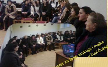 Čuklić: Duhovna obnova za žene, supruge i majke