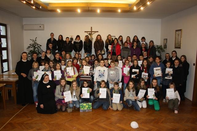 Kloštar Ivanić: Kviz znanja za vjeroučenike