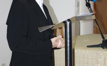 Vrhovna predstojnica završila kanonski pohod našoj Provinciji