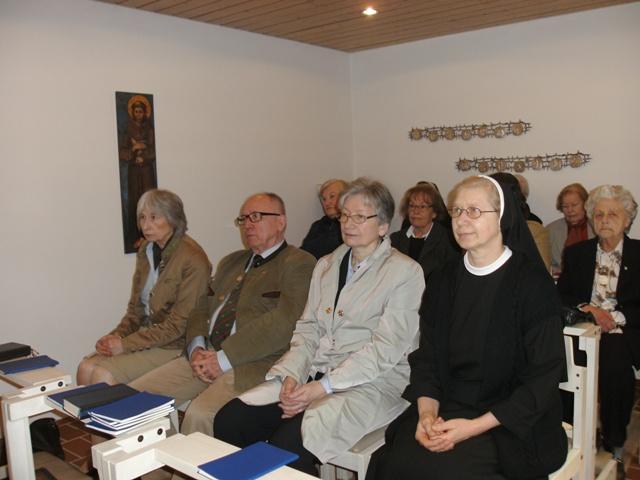 Thalkirchen (München): Sveta misa za dobročiniteljicu Provincije
