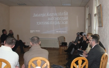 Susret predstavnika udruženja vjeroučitelja u Sarajevu