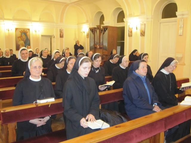Mjesečna duhovna obnova redovnica u Sarajevu