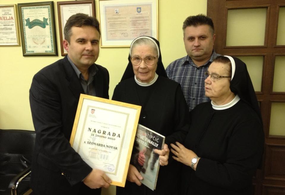 Nagrada za životno djelo s. Leonardi Novak