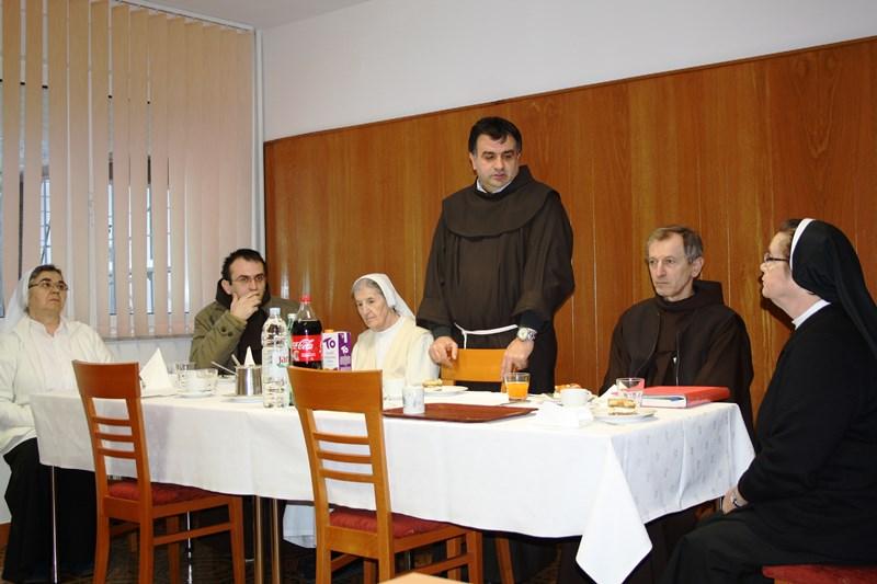 Kloštar Ivanić: Posjet Generalnog vizitatora Hrvatske franjevačke provincije