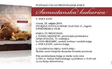 "Predstavljanje knjige ""Samostanska kuharica"""