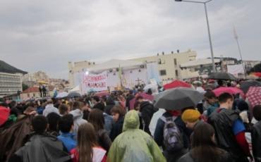Susret hrvatske katoličke mladeži u Dubrovniku