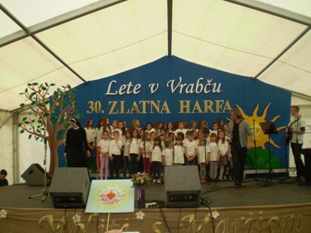 Zlatna harfa u Župi sv. Barbare u Gornjem Vrapču