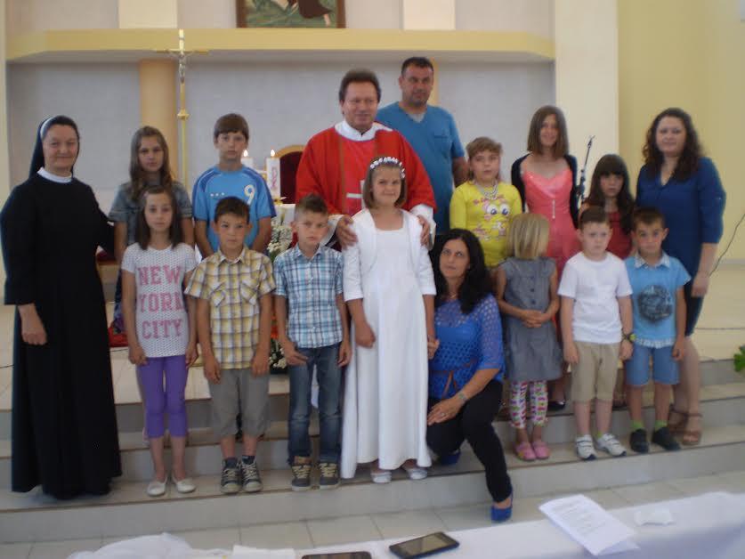 Slavlje Prve svete pričesti u Gornjoj Tramošnici
