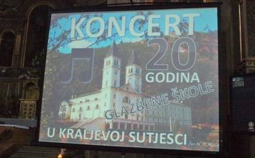 Veličanstven koncert u Kraljevoj Sutjesci