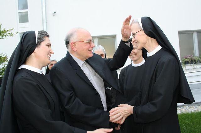 Blagoslov obnovljenog samostana Sv. Franje u Kloštru Ivaniću