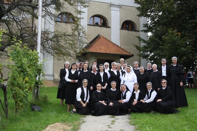 VII. plenarno vijeće Družbe Školskih sestara franjevki Krista Kralja: Hodočašće