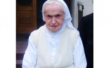 Preminula naša s. M. Tavelina (Veronika) Košćec