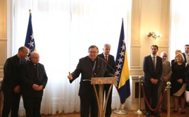 Zahvala sudionicima organizacije posjeta pape Franje Bosni i Hercegovini