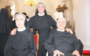 Kloštar Ivanić: Slavlje 50. i 60. obljetnice redovničkog života i obnova privremenih redovničkih zavjeta