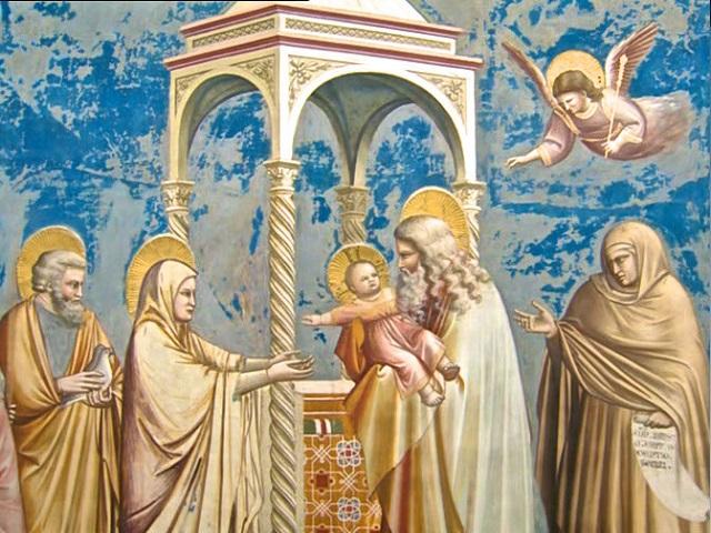 Očitovanje Mesije u Hramu