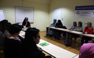 Sarajevo: Predavanje na Tečaju za gerontološku domaćicu