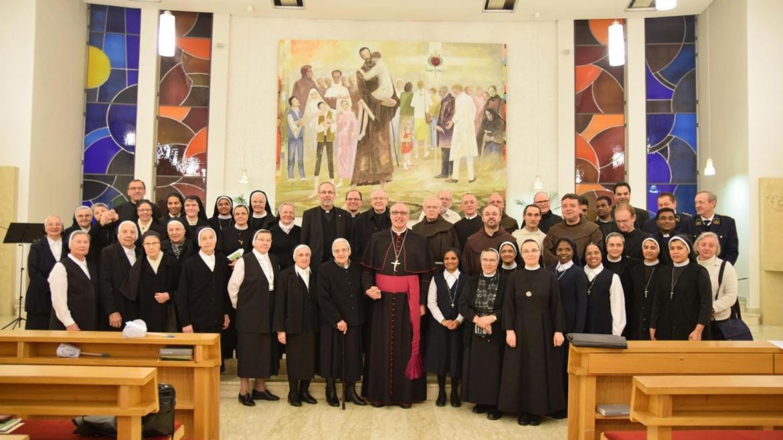 Susret Bogu posvećenih osoba u biskupiji Željezno
