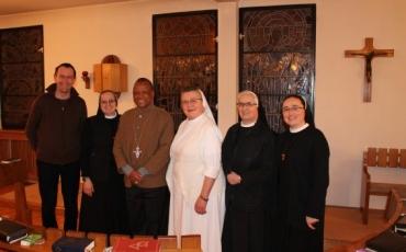 Biskup iz Mozambika u posjetu provincijalnoj kući i zajednici sestara na Bjelavama