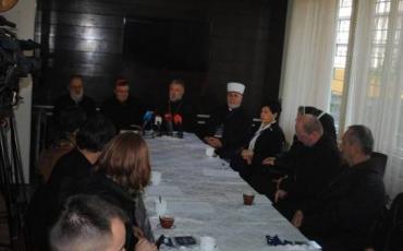 Članovi Međureligijskog vijeća BiH posjetili mjesta stradanja u nedavnom ratu