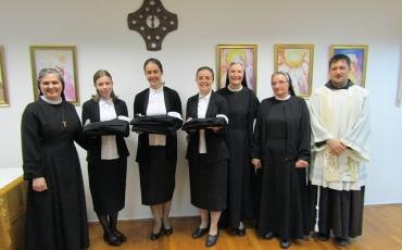 Blagoslov redovničkog odijela