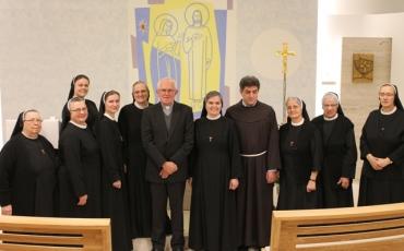 Proslava svetkovine sv. Franje u provincijalnoj kući u Sarajevu