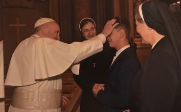Naše sestre u osobnom prijemu kod pape Franje