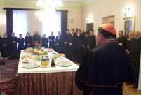 Božićno čestitanje kardinalu Puljiću