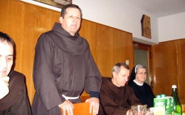 Posjet fra Marka Mrše, generalnog vizitatora hrvatske franjevačke provincije Sv. Ćirila i Metoda