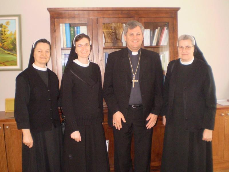 Susret s biskupom Košićem