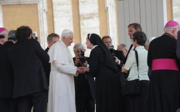 Naše sestre na općoj audijenciji kod Pape