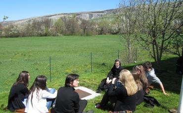 Mladi i sestre franjevke za 70. rođendan Provincije