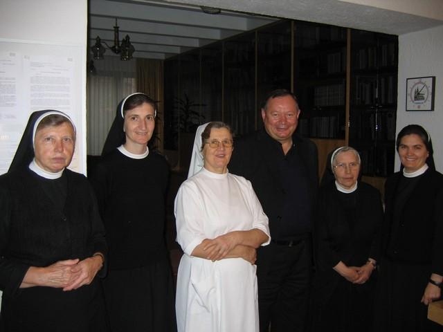 Posjet mons. Marka Semrena sestrama u Sarajevu