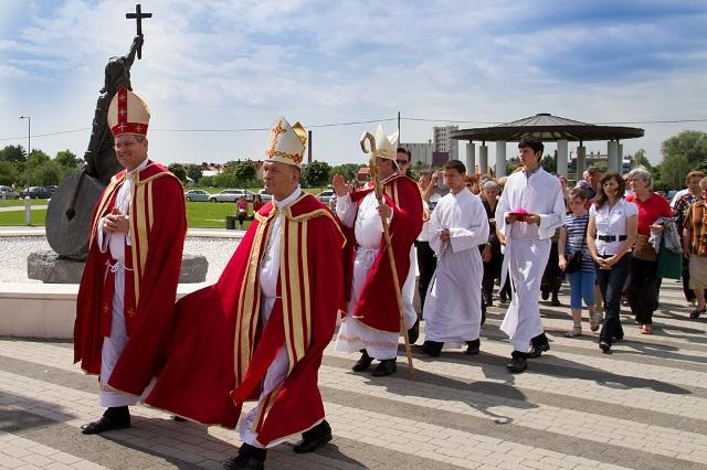 Hodočašće svetom Kvirinu u Sisak