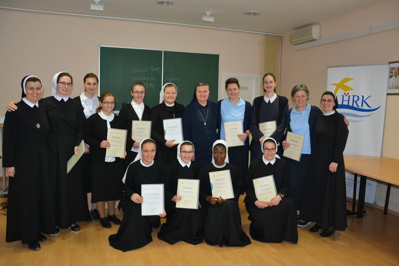 Dodijeljene diplome polaznicama Novicijatske škole