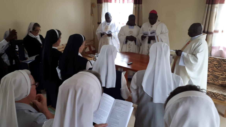 Blagoslov kapele i kuće u misiji Rwentobo u Ugandi