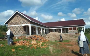 Blagoslov kuće i kapele naše nove zajednice u Rwentobo u Ugandi