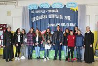 Županijsko natjecanje iz Vjeronaučne olimpijade u Uskoplju