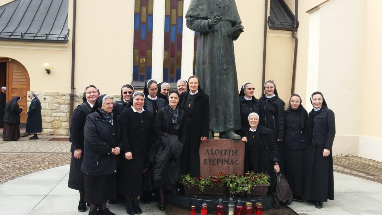 Hodočašće u Krašić redovnica s područja Zagrebačke nadbiskupije