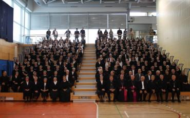 150. obljetnica osnutka Družbe školskih sestara franjevaka Krista Kralja Zatvaranje Jubilejske godine: Zagreb – Maribor
