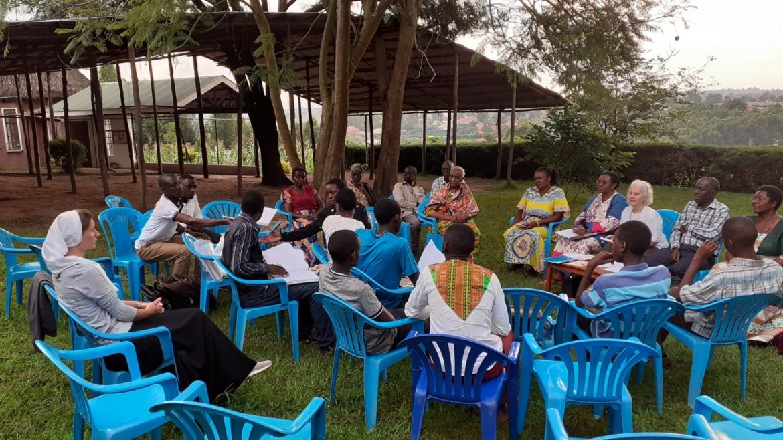Posjet međunarodne predsjednice FSR-a i Frame franjevačkoj obitelji u Ugandi