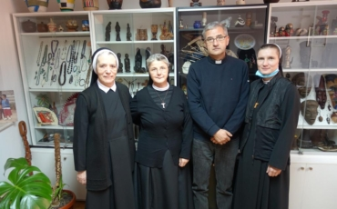 Sestra Ivka Lučić i s. Franciska Ivanović posjetile Misijsku središnjicu u Sarajevu