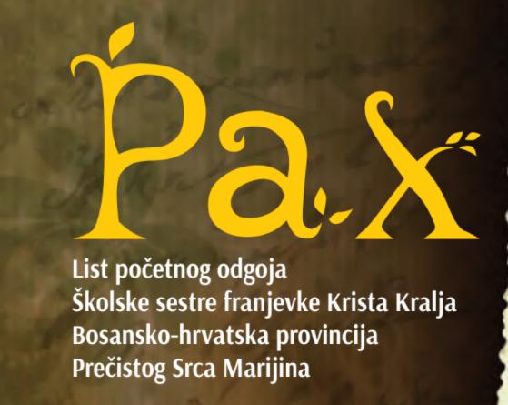 PAX – List početnog odgoja