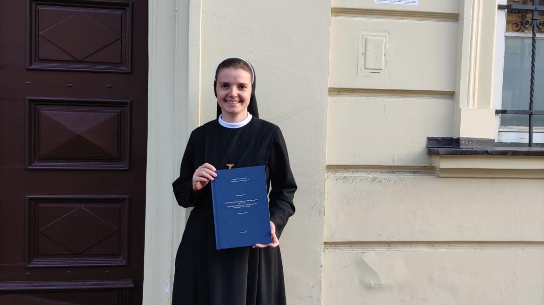 Na KBF-u diplomirala s. Anđelina Ivančić